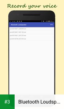 Bluetooth Loudspeaker app screenshot 3