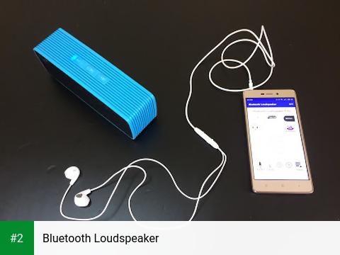 Bluetooth Loudspeaker apk screenshot 2
