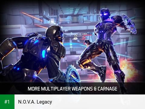 N.O.V.A. Legacy app screenshot 1