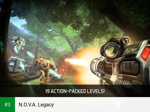 N.O.V.A. Legacy app screenshot 3