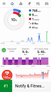 Notify & Fitness for Amazfit app screenshot 1