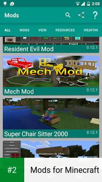 Mods for Minecraft apk screenshot 2