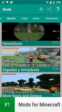 Mods for Minecraft app screenshot 1