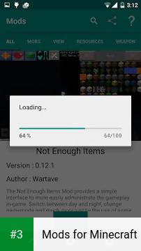 Mods for Minecraft app screenshot 3