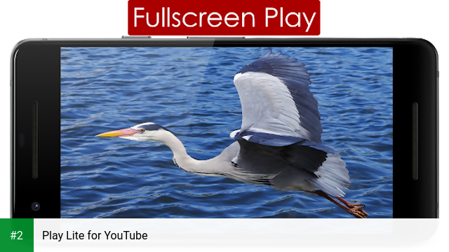 Play Lite for YouTube apk screenshot 2