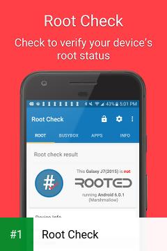 Root Check app screenshot 1