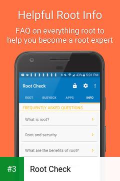 Root Check app screenshot 3