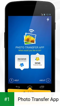 Photo Transfer App app screenshot 1