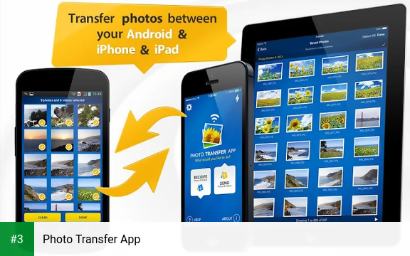 Photo Transfer App app screenshot 3