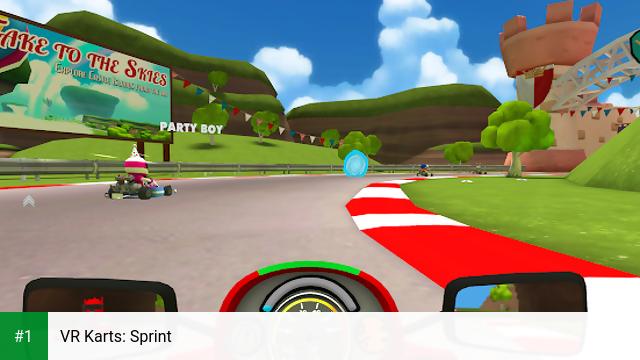 VR Karts: Sprint app screenshot 1