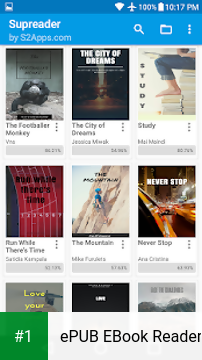 ePUB EBook Reader app screenshot 1