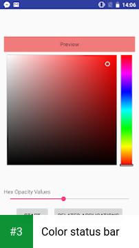 Color status bar app screenshot 3