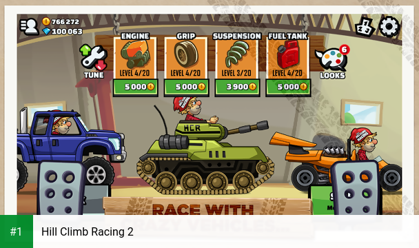 Hill Climb Racing 2 app screenshot 1