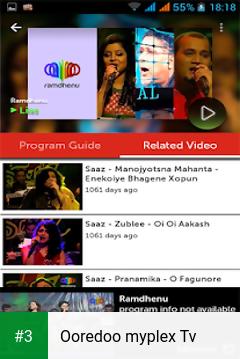 Ooredoo myplex Tv app screenshot 3