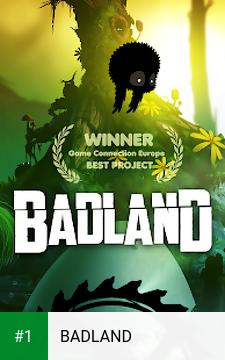 BADLAND app screenshot 1