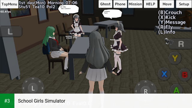 School Girls Simulator app screenshot 3