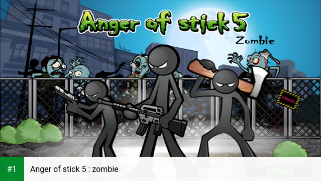 Anger of stick 5 : zombie app screenshot 1