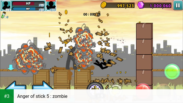 Anger of stick 5 : zombie app screenshot 3