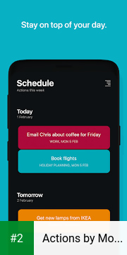 Actions by Moleskine apk screenshot 2