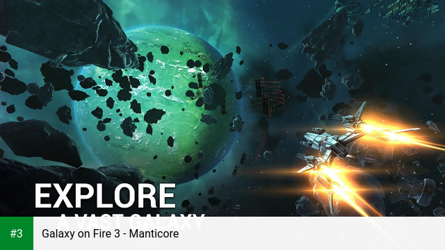 Galaxy on Fire 3 - Manticore app screenshot 3