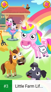 Little Farm Life - Happy Animals of Sunny Village app screenshot 3
