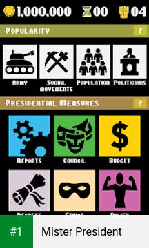 Mister President app screenshot 1