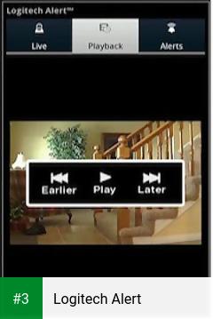 Logitech Alert app screenshot 3