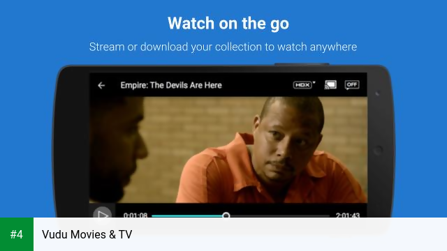 Vudu Movies & TV APK latest version - free download for Android