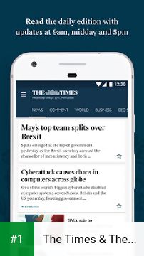 The Times & The Sunday Times app screenshot 1