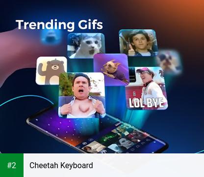 Cheetah Keyboard apk screenshot 2