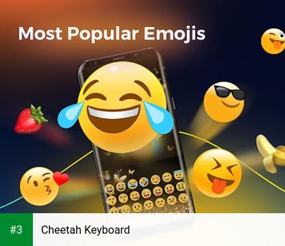 Cheetah Keyboard app screenshot 3