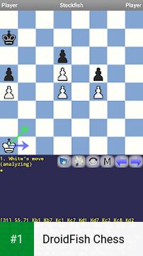 DroidFish Chess app screenshot 1