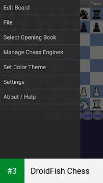 DroidFish Chess app screenshot 3