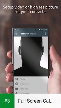 Full Screen Caller ID app screenshot 3