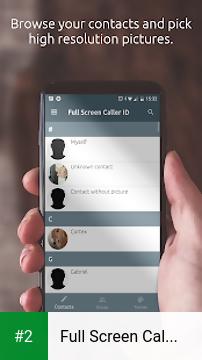 Full Screen Caller ID apk screenshot 2