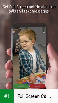 Full Screen Caller ID app screenshot 1