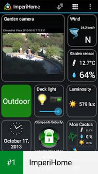 ImperiHome app screenshot 1