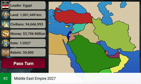 Middle East Empire 2027 apk screenshot 2