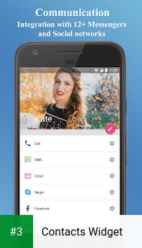 Contacts Widget app screenshot 3