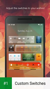 Custom Switches app screenshot 1