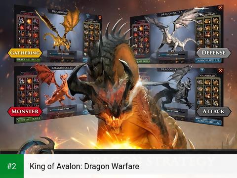 King of Avalon: Dragon Warfare apk screenshot 2