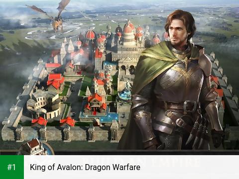 King of Avalon: Dragon Warfare app screenshot 1