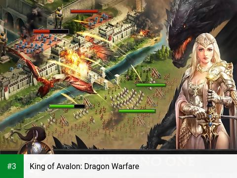 King of Avalon: Dragon Warfare app screenshot 3