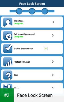 Face Lock Screen apk screenshot 2