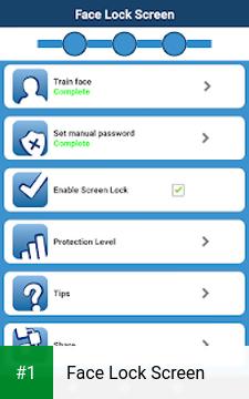 Face Lock Screen app screenshot 1