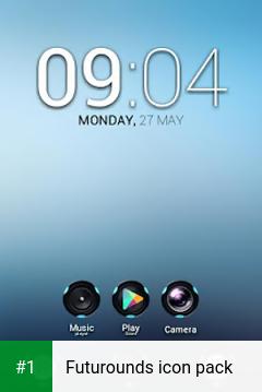 Futurounds icon pack app screenshot 1