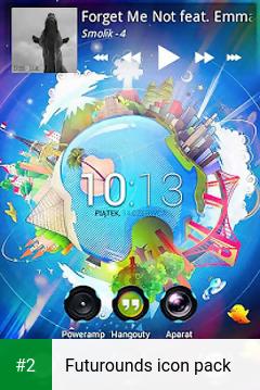 Futurounds icon pack apk screenshot 2