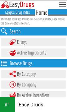 Easy Drugs app screenshot 1