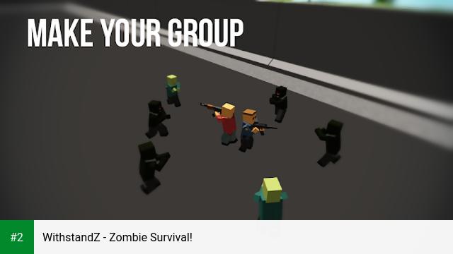 WithstandZ - Zombie Survival! apk screenshot 2