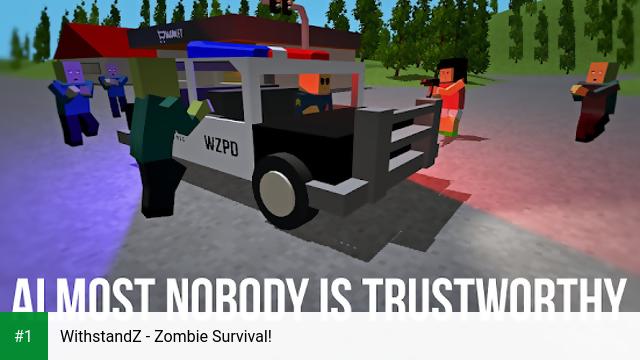 WithstandZ - Zombie Survival! app screenshot 1